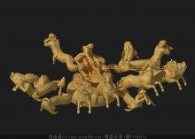古罗马群雕3d模型
