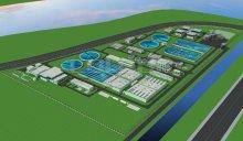 吴淞江污水处理厂全套3d建筑模型