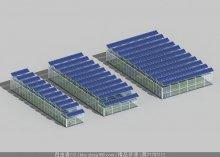 节能温室3d模型